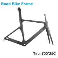 Carbonfan HM-Feng Aero Road Bike Carbon Frame 700*25C T700