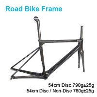 Carbon Bike Frame 54CM Disc / Non-Disc Road Bike Frame KM Series