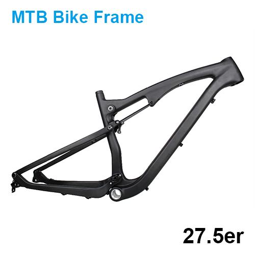 Mountain Bike Carbon Fiber Full Suspension ATEL Frame 27.5er MTB ...