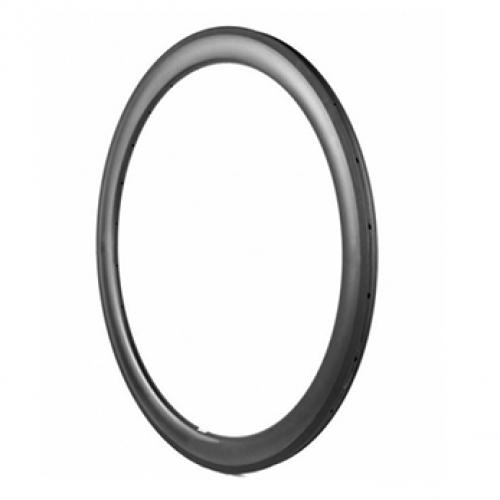 Asymmetric tubeless Ready 700C carbon road rims Depth:38mm width:25mm Clincher