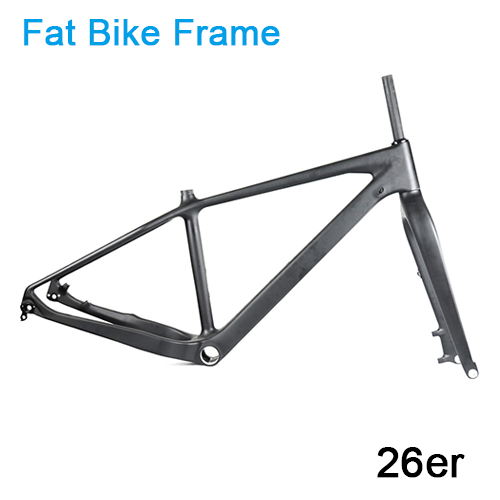 Carbonfan SATI 26er Fat Bike Carbon Frame