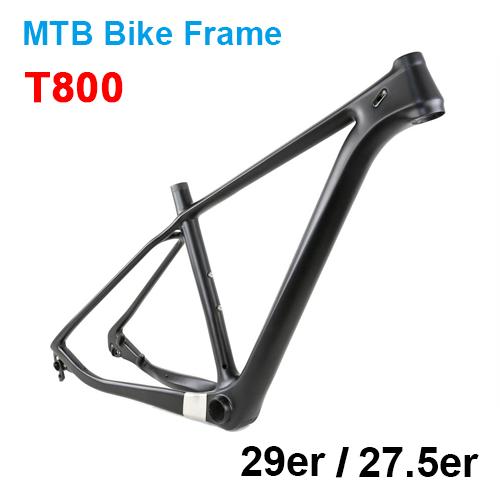 T800 HM Mountain Bike Carbon Frame 29er/27.5er(650B) 142*12mm OR 135*10mm QR