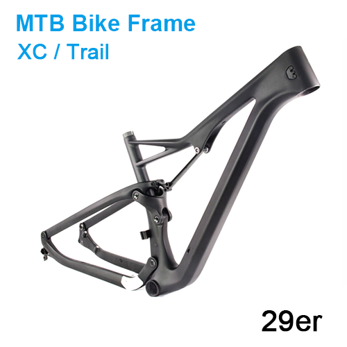 Carbonfan APIS PF92 29er XC Full Suspension Mountain Bike Carbon Frame