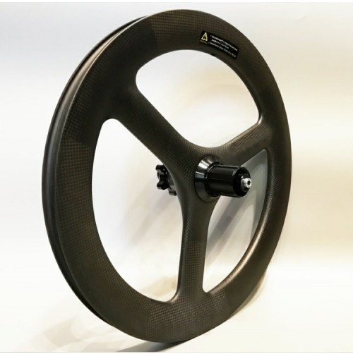 """Carbonfan 3-Spoke 18"""" Depth:45mm Width:25mm Carbon road wheels Clincher Track wheels Tubeless Ready"""