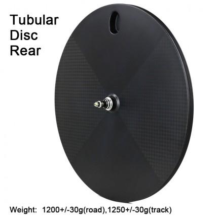 Carbonfan Road Bike Carbon Disc Rear Wheels Tubular