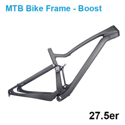 BOOST Bike 27.5er Plus Full Suspension Carbon Mountain Bike Frame