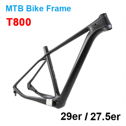 T800 HM Mountain Bike Carbon Frame 29er/27.5er(650B) 142*12mm OR 135*10mm QR