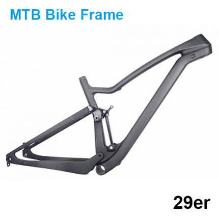Carbon MTB Frame 29er Carbon Mountain Bike Frame 142*12mm Bicycle Frame