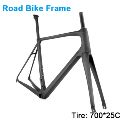 Carbonfan HM-S Road Bike Carbon Frame 700*25C T700