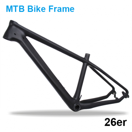 T800 Lightest Carbon fiber MTB bike frame 26er, Mountain bike carbon bike frame 135*9mm QR