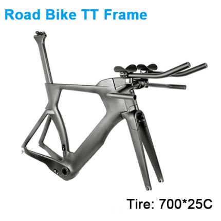 Carbonfan 700*25C Road Frame TT Handlebar Carbon Road Frameset