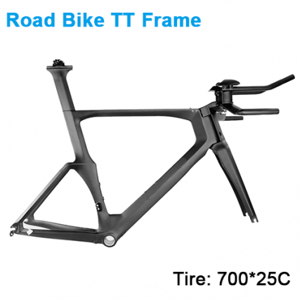 Carbonfan TT PF86 700*25C Time Trial Triathlon Carbon Frameset