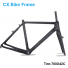 Carbon Cyclocross V-brake UD Matte 700*42C T700 CX Bike Carbon Frame