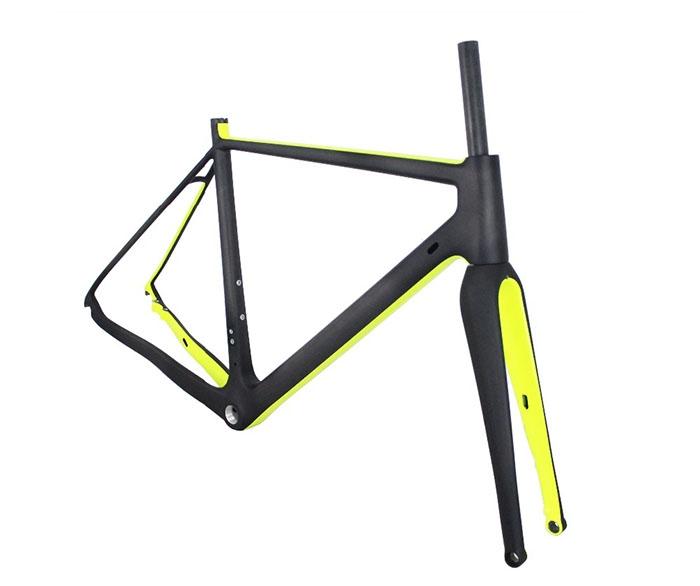 Carbon Bike Frame Gravel bikes 700*40C Carbon CycloCross Bike Frame ...